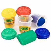 Тесто для лепки – Мимимишки, 4 цвета (Multiart, 450PD-MIMIsim)