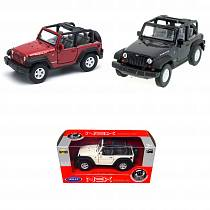Модель машины Jeep Wrangler Rubicon, 1:34-39 (Welly, 42371)