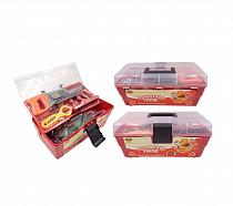 Набор инструментов «Помогаю Папе» в чемодане, 33 предмета (ABtoys, PT-00216)