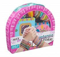Большой набор для плетения браслетов - Друзья навсегда (Alex Toys, 737WX)
