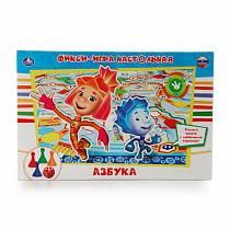 Настольная игра-ходилка - ФиксиАзбука (Умка, 4690590101179sim)