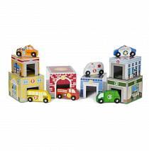 Набор Классические игрушки – Гаражи сортировщики (Melissa&Doug, 3576_md)