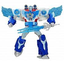 Transformers. Трансформеры: Роботы под прикрытием - Заряженый Оптимус Прайм (Hasbro, B7066EU4)
