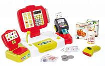 Детская электронная касса с аксессуарами, 27 предметов (Smoby, 350107)