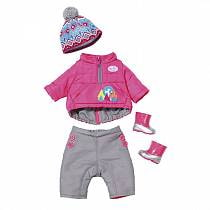 Одежда - Зимние морозы для кукол из серии Baby born (Zapf Creation, 823-811)