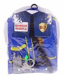 Форма полицейского из серии Важная работа, 6 предметов с аксессуарами (Abtoys, PT-00780)