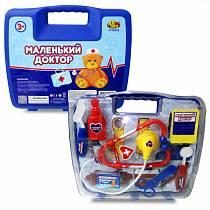 Игровой набор серии Маленький доктор на 14 предметов, в чемоданчике (ABtoys, PT-00232)