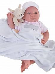 Кукла Реборн младенец Ника, 40 см (Antonio Juan Munecas, 8109)