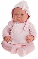 Кукла Алисия в розовом, 40 см (Antonio Juans Munecas, 3368P)