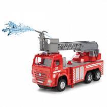 Радиоуправляемая пожарная машина «Камаз» со светом и звуком, 25 см (Технопарк, KAM-F-RCsim)