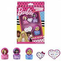 Игровой набор детской декоративной косметики для ногтей - Barbie (Markwins, 9708351)