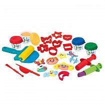 Набор с пластилином - Забавная семейка (Playgo, Play 8694veg)