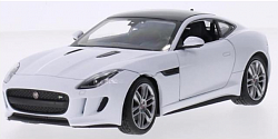 Модель машины 1:34-39 Jaguar F-Type Coupe (Welly, 43699) - миниатюра