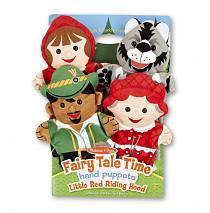 Плюшевые куклы на руку – Красная шапочка (Melissa&Doug, 9088_md)