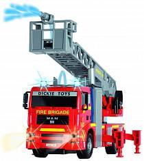 City Fire Engine пожарная машина, свет + звук, брызгает водой, 31 см. (Dickie, 3715001)