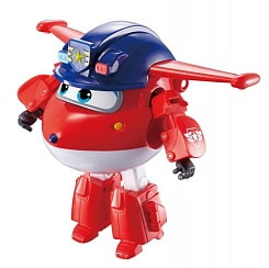 Трансформер Super Wings – Джетт, команда Полиции (Auldey Toys, EU730231