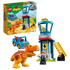 Конструктор Lego Duplo - Jurassic World Башня Ти-Рекса (Lego, 10880)