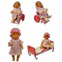 Игровой набор Врачи и пациенты, BABY born, 2 вида (Zapf Creation, 810-347)