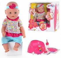 Функциональный пупс, умеющий пить, писать, сосать соску (Baby doll, B553177sim)