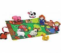 Игровой набор с ковриком и фигурками - Мини ферма (K's kids, KA743)