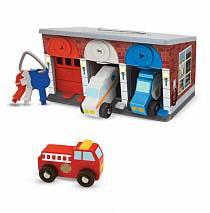 Гараж со спасательными машинами (Melissa&Doug, 4607_md)