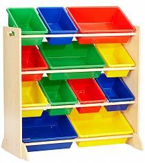 Система для хранения с 12 контейнерами (KidKraft, 16774_KE)