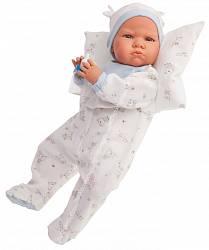 Кукла Бертина в голубом, озвученная, 52 см. (Antonio Juan Munecas, 1951B)