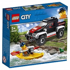 Конструктор Lego® City - Great Vehicles - Сплав на байдарке (Lego, 60240-L)