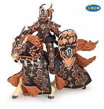 Воин черного паука и его лошадь (Papo, 38984)