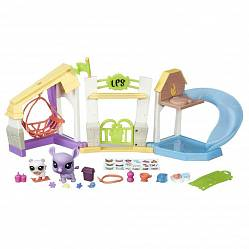 Littlest Pet Shop. Набор - Парк отдыха, серия Pets in the City  (Hasbro, b6958-b0282) - миниатюра