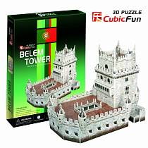 3D puzzles. Пазлы объёмные. Башня Белен (Португалия) (CubicFun, C711h)