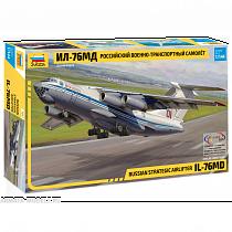Сборная модель – Российский военно-транспортный самолёт Ил-76МД (Звезда, 7011з)