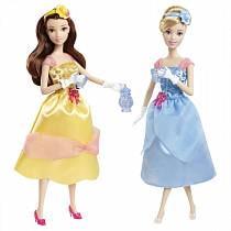 Королевское чаепитие. Золушка и Белль (Disney Princess, Mattel, X9352)