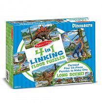 Большой напольный пазл – Динозавры (Melissa & Doug, 8914_md)