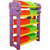 Стеллаж для хранения игрушек, 5 секций (Happy Box, JM-809C)