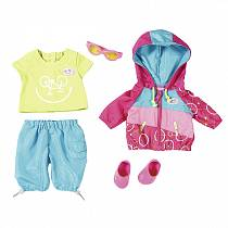 Одежда для велопрогулки для кукол Baby born (Zapf Creation, 823-705)