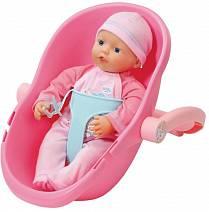 Кукла My Little Baby Born с креслом-переноской, 32 см. (Zapf Creation, 822-494)