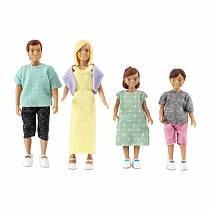 Набор кукол для домика - Классическая семья (Lundby, LB_60807000)