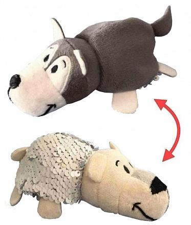 Мягкая игрушка - Вывернушка Блеск - Хаски-Полярный медведь e89a613fbc992