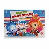 Викторина 500 вопросов – Фиксики (Умка, 4690590111604sim)