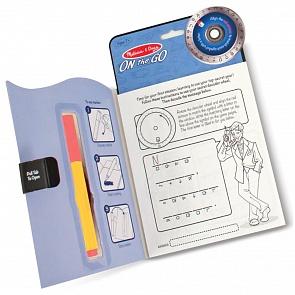 Задания, головоломки, книги с наклейками Melissa&Doug ...