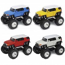 Модель машины Toyota FJ Cruiser Big Wheel, 1:34-39 (Welly, 47003)