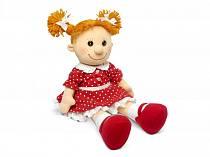 Кукла Майя в красном платье в горошек музыкальная (Lava, Л8789D)