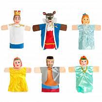 Кукольный театр – Аленький цветочек, 6 кукол (Жирафики, 68340)