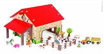 Набор для детей - Веселая ферма, 19 аксессуаров (Janod, bj06483)