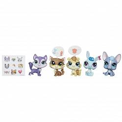 Littlest Pet Shop. Набор - Обед в Даунтауне, серия Pets in the City  (Hasbro, b5005-b0282) - миниатюра