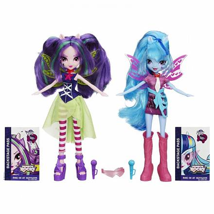 My Little Pony Equestria Girls Куклы-пони Sonata Dusk и Aria Blaze
