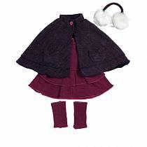 Костюм для куклы ростом 46 см. - Пурпурное кабо (Adora, 20553027_md)