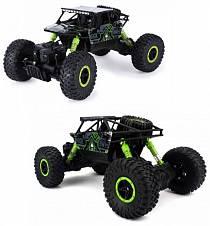 Машина на радиоуправлении - Монстр Трак, 1:18, зеленый/черный (HB-P1803)
