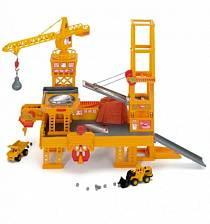 Строительная площадка с краном и машинками (Dickie, 3608350)